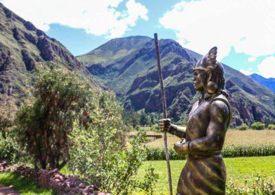 Inca en bronce / Inca in bronze